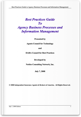 Best Practices Guide to Agency Business Processes & Information Management